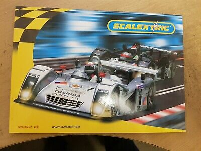 Scalextric Catalogue 2001 42nd Edition BRAND NEW • 7.99£