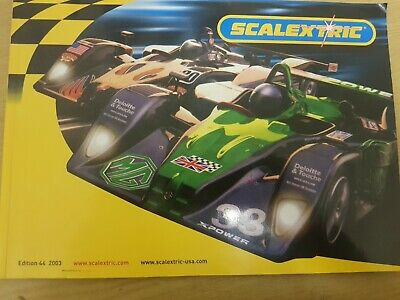 Scalextric Catalogue 2003 44th Edition BRAND NEW • 6.99£