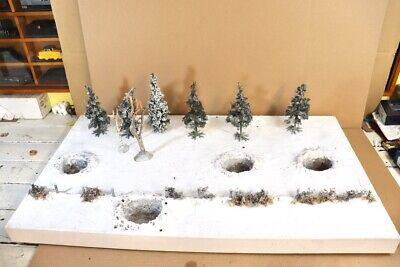 J G MINIATURES WWII BATTLE Of The BULGE DIORAMA Compatible With King & Country 2 • 149.50£