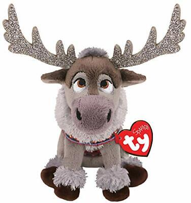 Ty Beanie Babies 41097 Disney Frozen 2 Sven The Grey Reindeer With Sound Regular • 9.95£