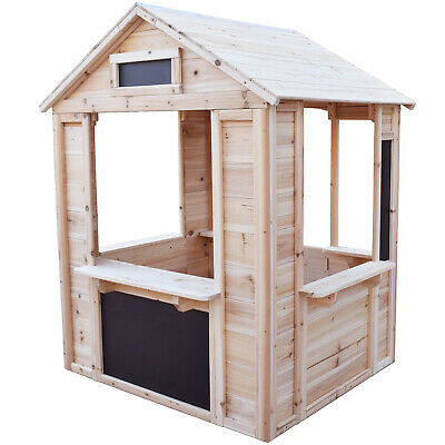 Big Game Hunters Café Shop Wooden Playhouse - Play Market Stall For Children • 165£