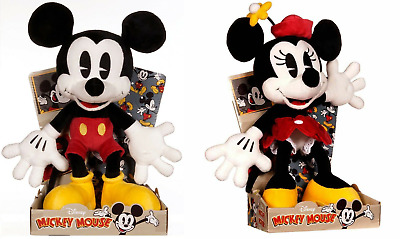 Posh Paws - Minnie Mouse Or Mickey Mouse - Soft Toy - 11  (28cm) Disney Classics • 13.99£
