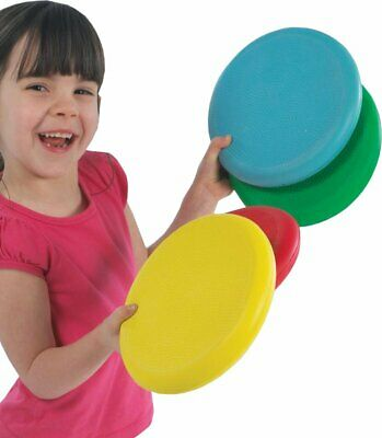 Foam Flyers. Soft Discs ( 4 Pack ) - Children's Soft Frisbee Toys • 9.99£