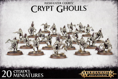Warhammer Age Of Sigmar Flesh-Eater Courts Crypt Ghouls Bits • 2.99£