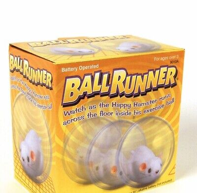 BALL RUNNER  TOY - Running Hamster Ideal For Kids Or Pets • 4£