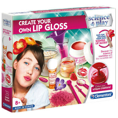 Clementoni Science & Play Create Your Own Lip Gloss Set • 12.99£