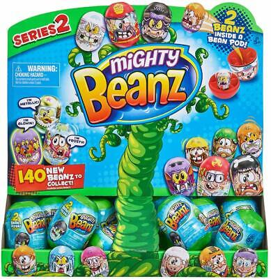 7 Pods Of Mighty Beanz Series 2 Pod With 2 Random Beanz - 14 Beanz In Total • 24.99£