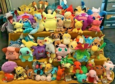 Pokemon Plush Teddy Collection - Choice Of 68 Characters - UK SELLER - BRAND NEW • 7.25£