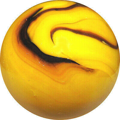 10 X  BUMBLE BEE  14mm (9/16 ) GAME PLAY MARBLES - NEW • 1.10£