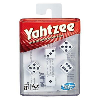 Classic Yahtzee Family Dice Board Card Game • 12.99£