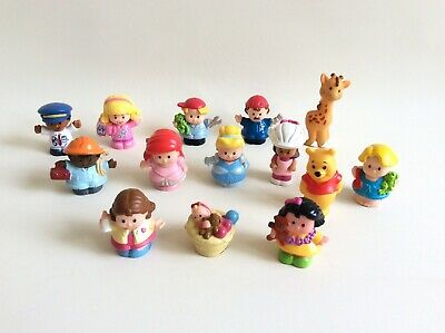 Little People Figures Bundle Fisher Price 14 Figures Disney  • 14.99£