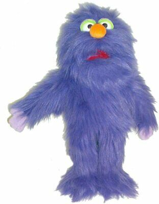 Puppet Purple Monster 13  Ventriloquist,Tell Storys.Moving Mouth&hands • 16£