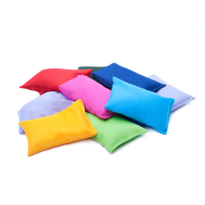 4/8 Pack Sports Bean Bags Throwing Catching Play PE Garden Play Games Juggling • 8.99£