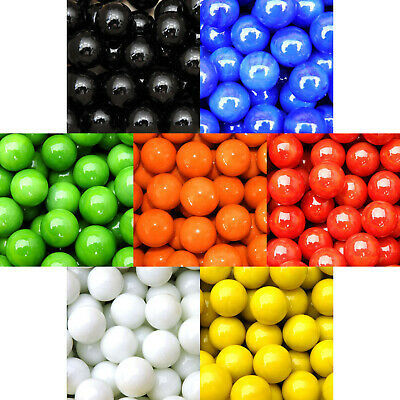 4 X 25mm (1 ) ASSORTED COLOURS  CHINESE CHECKER  SHOOTER MARBLES - NEW • 1£