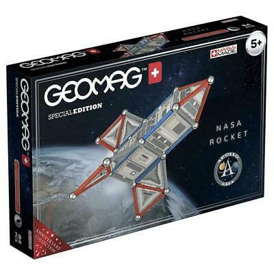 Geomag Special Edition Nasa Rocket 84pc Magnetic Building Set Toy • 19.99£