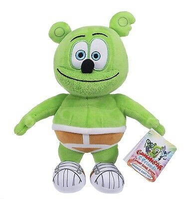 Singing Gummy Bear Soft Toy - 10  26cm - (gummibar)  With Sound - New -licenced • 14.99£