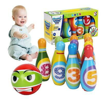 Kids Bowling Play Set, Gift Toys For 2,3,4,5 Year Old Boys Girls Birthday Gift • 10.99£