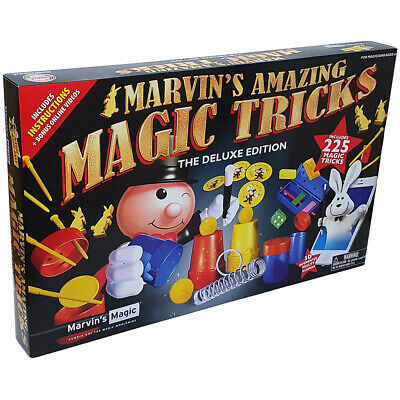 Marvin's Amazing Magic Tricks The Deluxe Edition 225 Trick Set • 16.99£