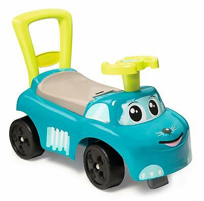 SMOBY 720525 2-in-1 Ride On Car And Baby Walker, Blue • 28.97£