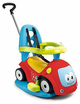 SMOBY 720302 Maestro Balade 4-In-1 Push-Along/Ride-On Car Red • 59.15£