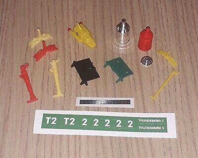 Dinky 101 & 106 Thunderbird 2 Reproduction Spare Parts - Choose From List • 2.85£