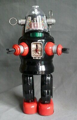 Nomura Wind Up Mechanised Tin Toy Robby Robot Vintage Japanese Forbidden Planet • 455£