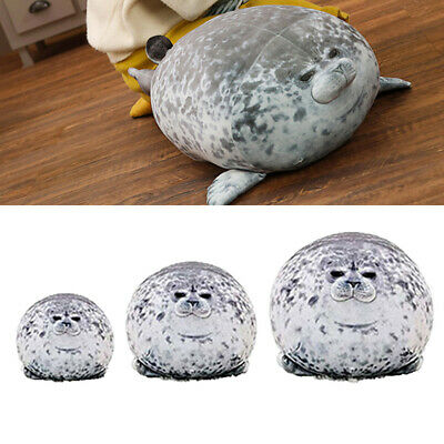 Soft Chubby Plush Seal Toy Ocean Animal Doll Pillow Pet Stuffed Doll Kids Gift • 12.95£
