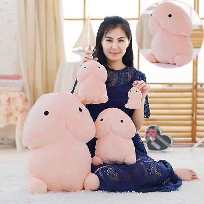 Funny Creative Penis Plush Dingding Pillow Cushion Stuffed Doll Cartoon Gift Toy • 14.99£