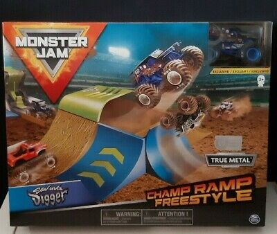 Monster Jam #6053296 Official Champ Ramp Freestyle Playset New & Sealed • 24.99£