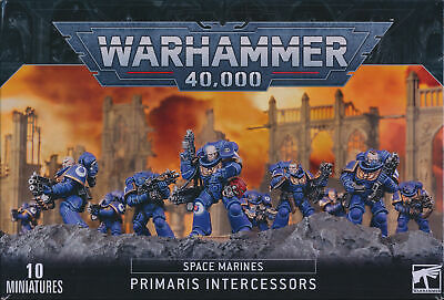 Warhammer 40,000 Space Marine Primaris Intercessors Bits • 2.50£