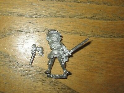 Mordheim Empire Freeguild Reiklander Captain Pistol And Sword Metal OOP • 19.97£