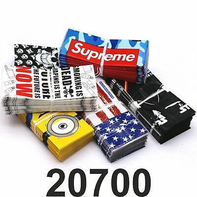 20700 Battery Wrap Cover Assorted Designs Replacement PVC UK SELLER • 2.99£