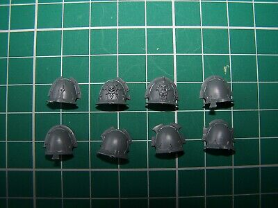 8 Chaos Space Marine Havoc Shoulder Pads Bits • 3.49£