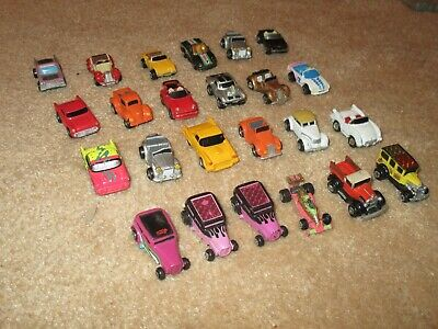Collection Of 24 Original Micro Machines Vehicles ,hot Rods + Convertibles   • 17.50£
