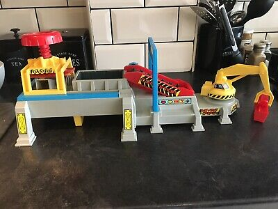 Vintage Matchbox Car Crusher Play Set 1993 Still Makes The Sound • 20£