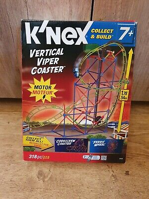 K'nex Collect And Build Vertical Viper Coaster - NEW • 22.60£