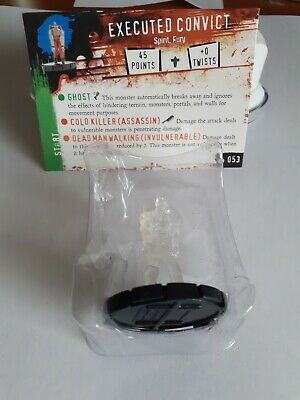 Horrorclix *EXECUTED CONVICT* No:- 053 With Character Card / New & Unused • 1.99£