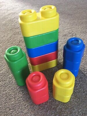 Rubber Building Blocks - 15 In Total • 1.49£
