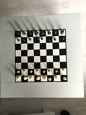 Hand Painted Chess Table • 35£