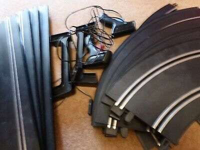 Scalextric Track - Endurance GT & Controllers - Good Condition - 19 Pieces !! • 25£