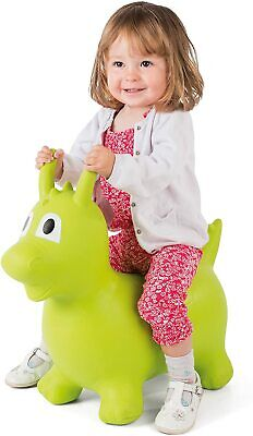 Jump N Bounce Ride On Dragon Hopper Green Inflatable Bouncer New Kids Toy Fun • 22.99£