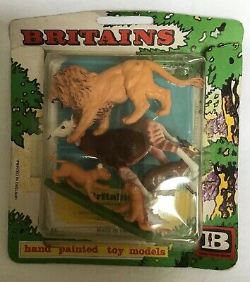 Vintage BRITAINS, 1973, Blister Zoo Pack, 54mm Scale. • 11.50£