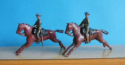 2 X Restored Britains Military Lead 1:32 - British 21st Lancers At The Gallop • 3.20£