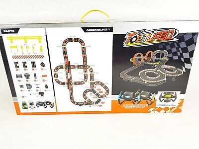RC My 1st Car Slot Set First Radio Controlled Track & F1 Cars Like Scalextric • 49.99£