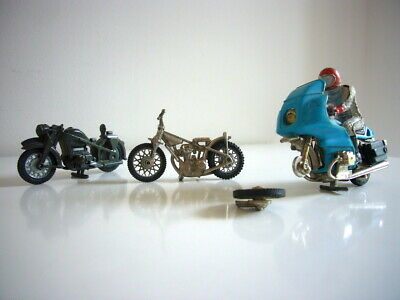 Britains Ltd: Motorcycles Job Lot For Spares Or Repairs, 1970s, Made In England • 1.99£