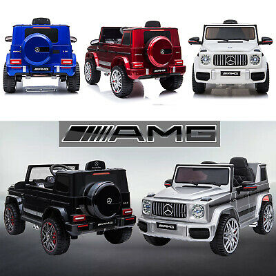 Kid Official Licensed Mercedes Benz G63 AMG Ride On Car 12V Battery Remote Wagon • 159.99£