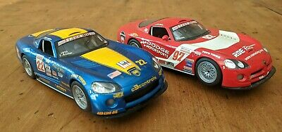 Scalextric Dodge Vipers - Twin Pack/Pair - With Lights  • 15£