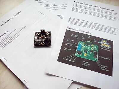 Quad Copter Control Board With Manual. • 2.99£