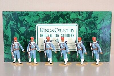 KING & COUNTRY SUDAN WAR EGYPTIAN ARMY SOLDIERS MARCHING BOXED Pjm • 239.50£