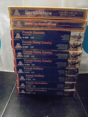 Job Lot Italeri Napoleonic Wars French Model Soldiers - Large Bundle All New • 19.99£
